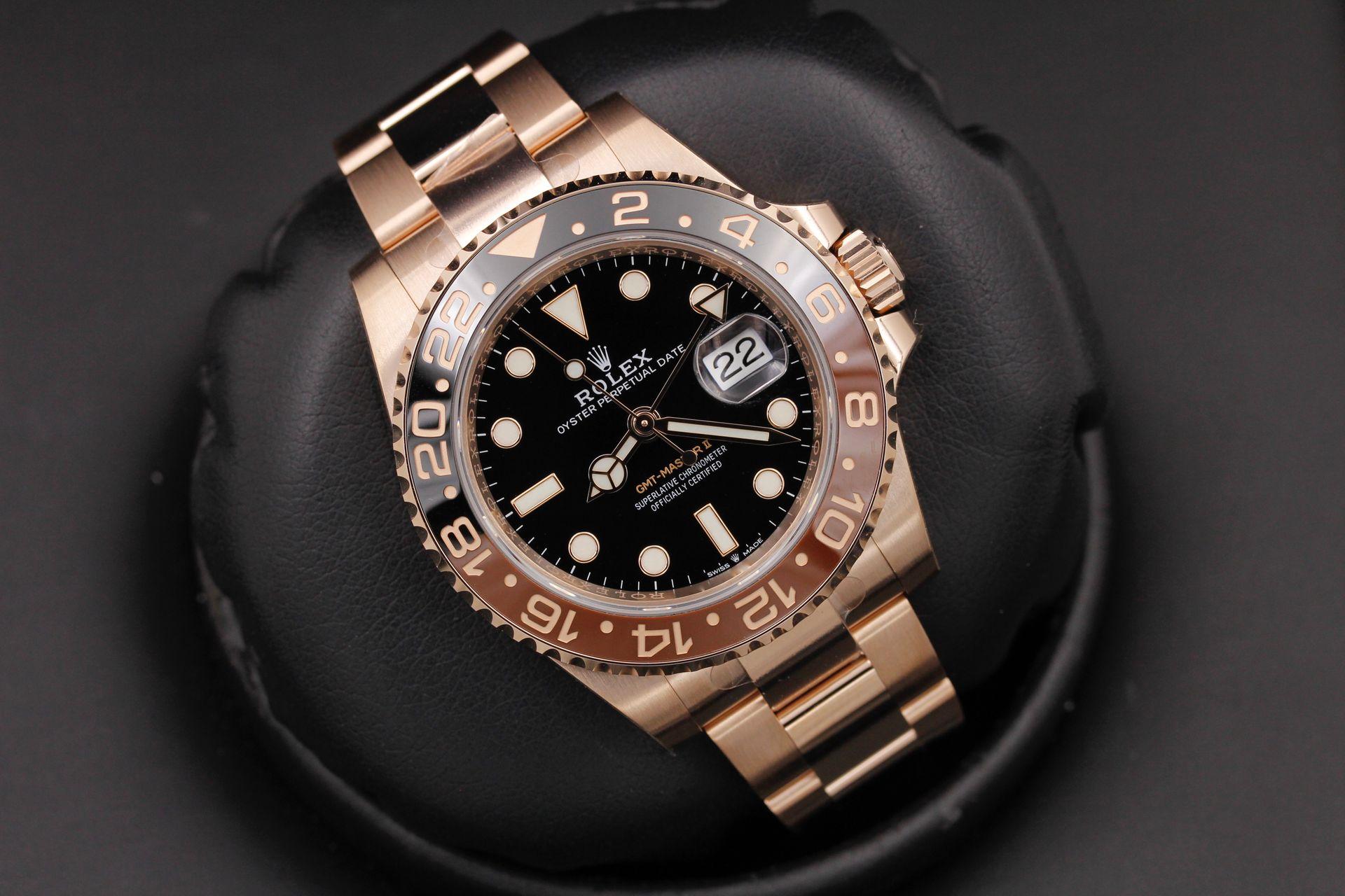 Rolex Gmt Master Ii 126715 Rose Gold - OCWatchGuy